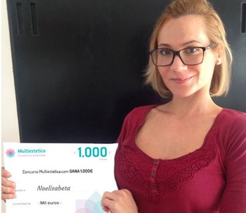Ganhadora do sorteio de outubro: Noelisabela