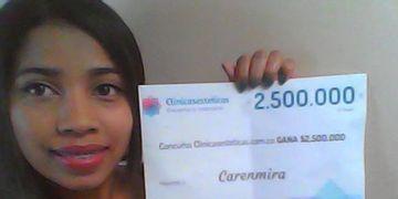 Ganhadora do sorteio de novembro: Carenmira