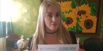 Ganhadora do sorteio de abril: Lida