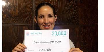 Ganhadora do sorteio de maio: SusanaLis