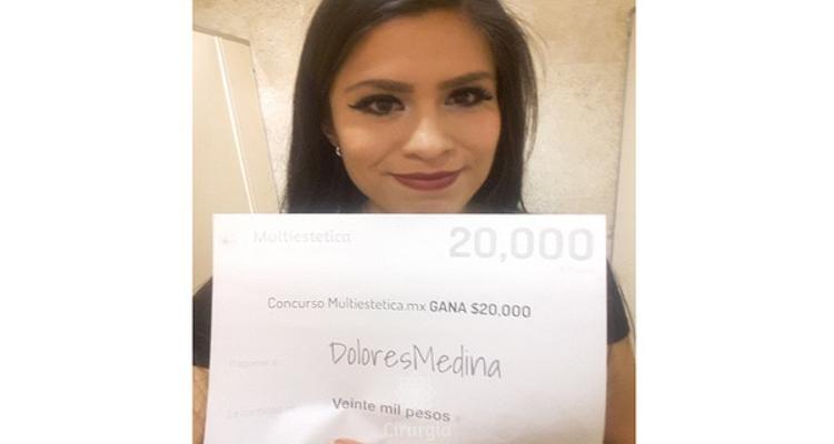 Ganhadora do sorteio de agosto: DoloresMedina