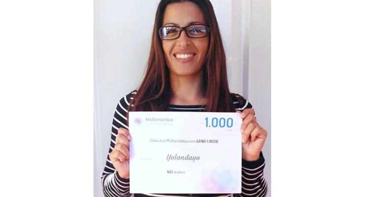 Ganhadora do sorteio de outubro: Yolandayo