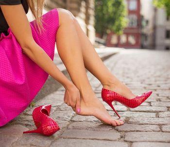 Lifting de pés com ácido hialurônico