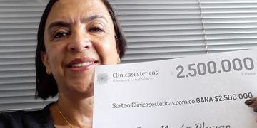 A ganhadora do mês de Julho: Ana Maria Plazas!