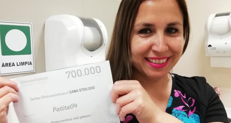Ganhadora do sorteio no mês de novembro:  Pati