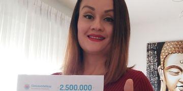 Ganhadora do sorteio mês de janeiro: @mujerdeluz