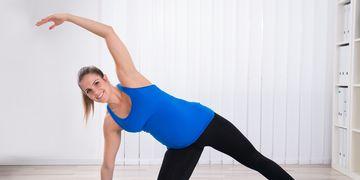 Pilates na gravidez facilita o parto
