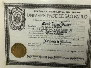 Doutorado pela USP