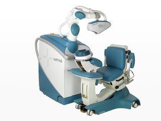 Artas system implante capilar robótico sem cicatriz