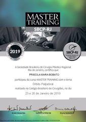 Certificado Master 2019