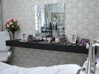 Sala de maquiagem e da noiva