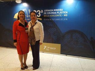 Dra Rosimara Bonfim na Jornada Mineira de Cirurgia Plástica