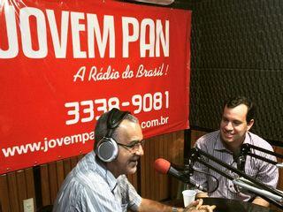 ENTREVISTA RADIO JOVEM PAN AM