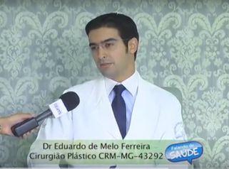 O Dr. Eduardo de Melo Ferreira explica como é feita a blefaroplastia
