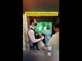 FUE ARTESANAL MOTORIZADO REDUÇÃO DE TESTA E ENTRADAS