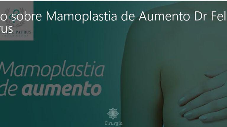 Entrevista sobre Mamoplastia de Aumento - Dr. Felipe Patrus